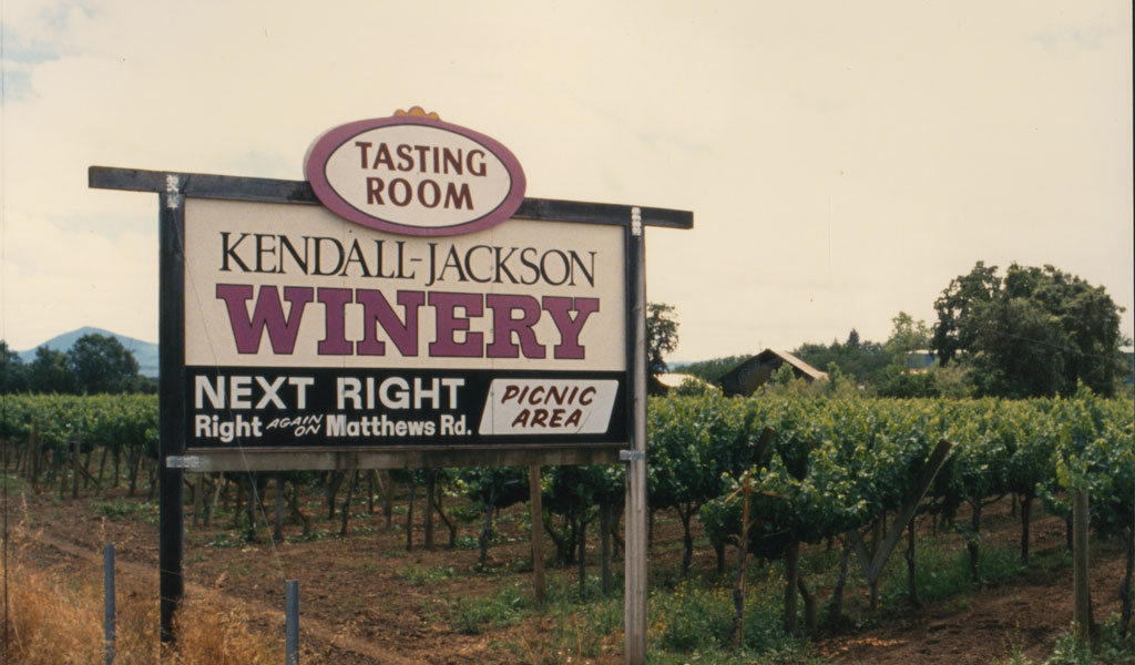 Kendall-Jackson Winery in 1982