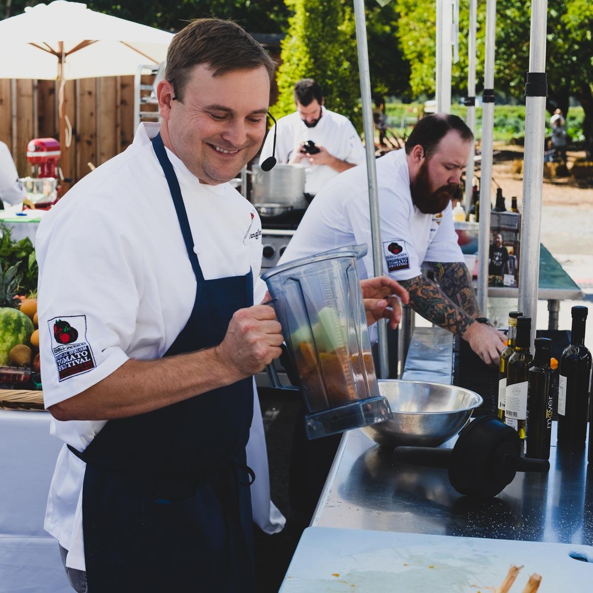 KJ Chef Justin Wangler