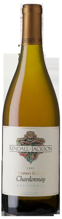 Kendall-Jackson Vintner's Reserve Chardonnay 1991 Bottle Shot