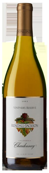 Kendall-Jackson Vintner's Reserve Chardonnay 1992 Bottle Shot