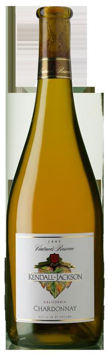 Kendall-Jackson Vintner's Reserve Chardonnay 1995 Bottle Shot