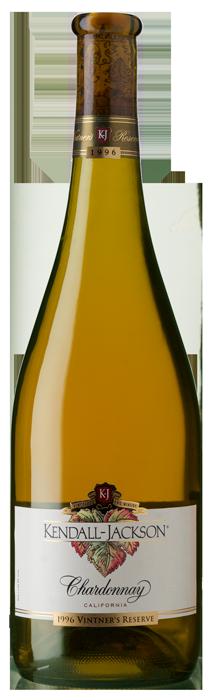 Kendall-Jackson Vintner's Reserve Chardonnay 1996 Bottle Shot