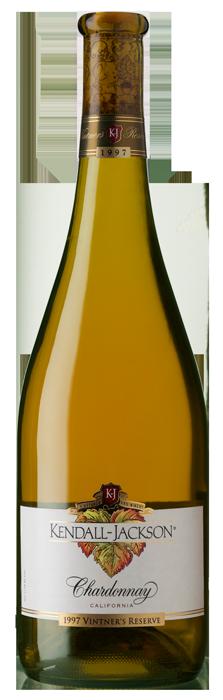 Kendall-Jackson Vintner's Reserve Chardonnay 1997 Bottle Shot