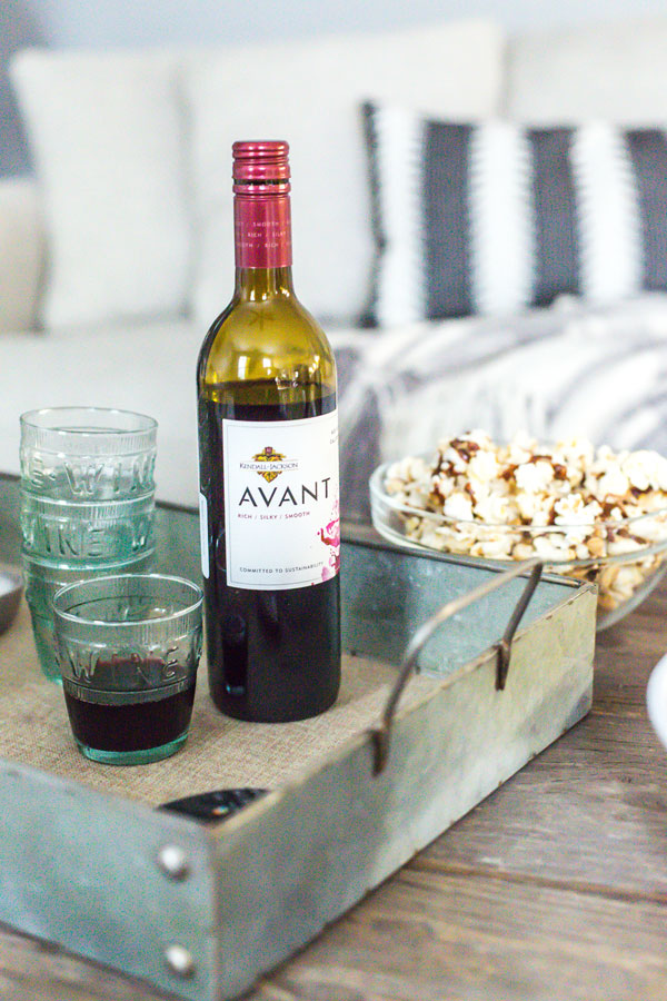 Rather than venturing out to the movies and spending a mini fortune, opt for hosting a movie night IN with your family or friends.