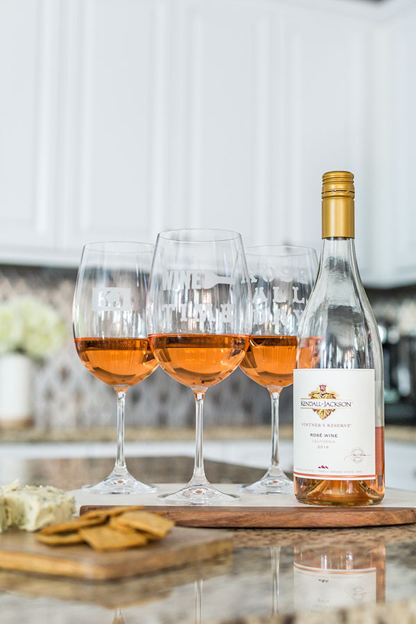 Kendall-Jackson-Wines-DIY-Personalized-Wine-Glasses-rosé-all-day