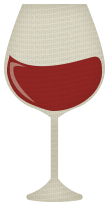 Merlot glass