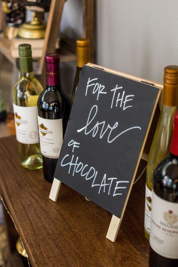 Chocolate White Wine Pairing