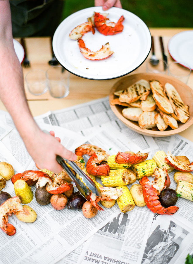 Pairing wine with Grilled Seafood