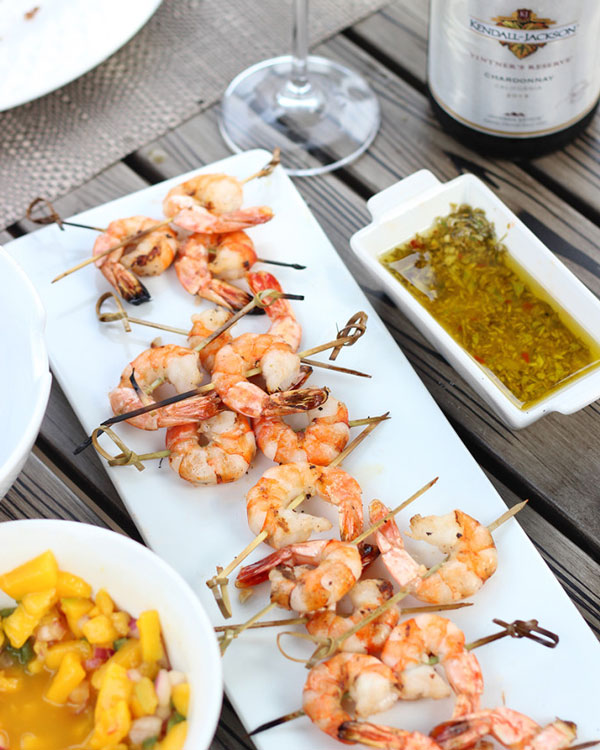 Pairing Wine with Grilled Shrimp