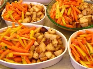 Fresh Vegetables from the Kendall-Jackson Garden