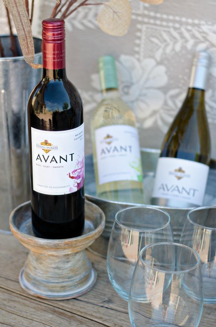 DIY Teracotta Wine Stand