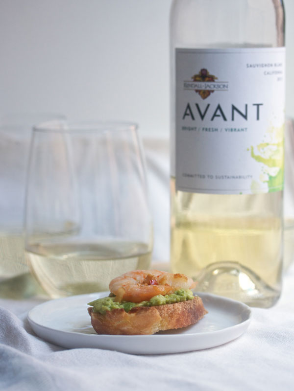 Shrimp & Avocado Crostini Recipe - Perfect for Early Fall Parties