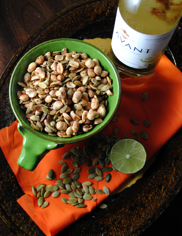 Spicy Peanuts with Pepitas Recipe