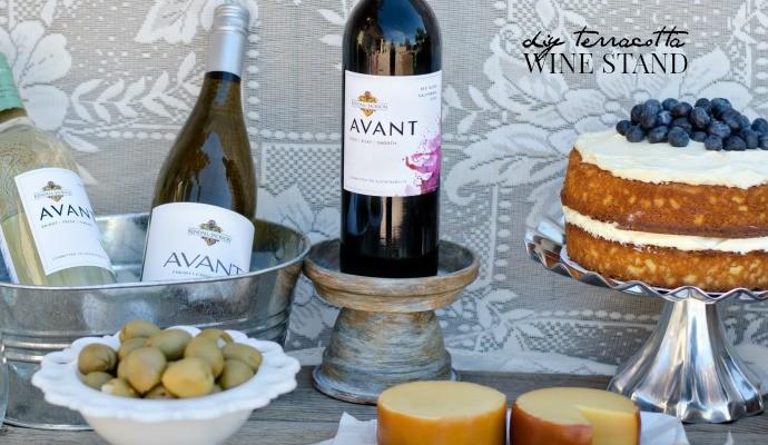 Terracotta Wine Stand