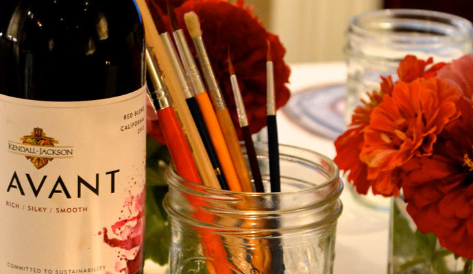 Girls Gone Paint – Art and Wine Party