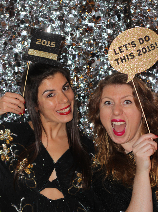 New Year's Eve Photo Booth Props #DIY #Printables