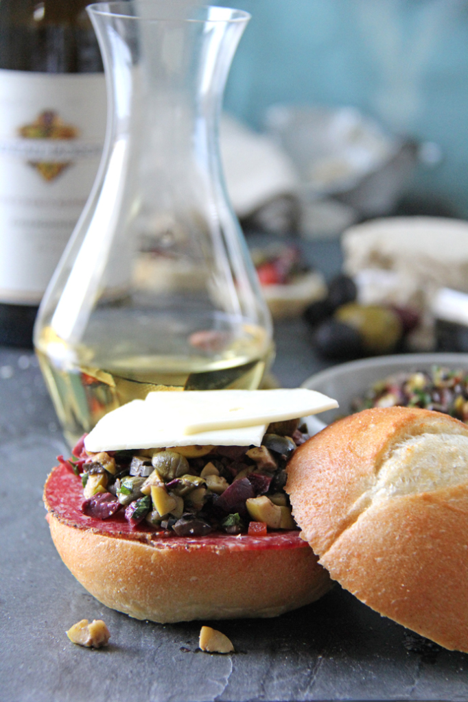 This recipe is a fresh and modern take on the classic olive tapenade.