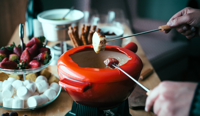 Smoked Gouda Fondue #Recipe