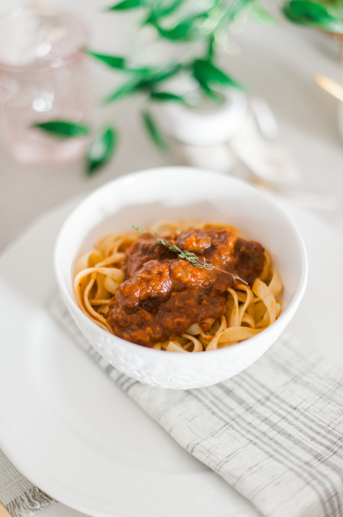 Red Wine & Sausage Bolognese Recipe