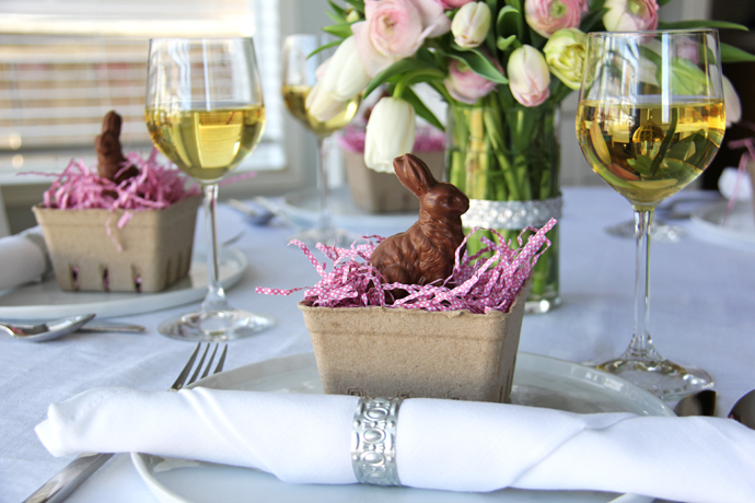 & Easter Table Setting