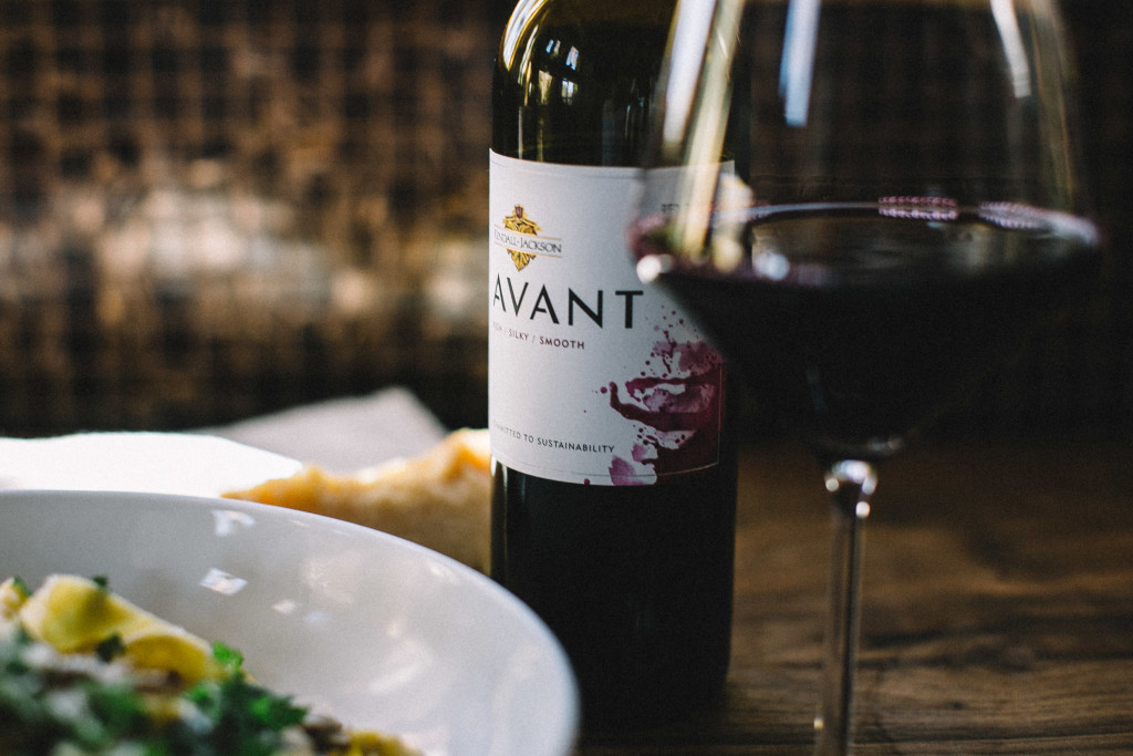 I love this mushroom pappardelle with it's zippy lemon cream sauce because it's hearty enough to satisfy, but not heavy enough to weigh you down. The #KJAVANT Red Blend makes a perfectly balanced pairing with it's silky notes of berry jam and black pepper.