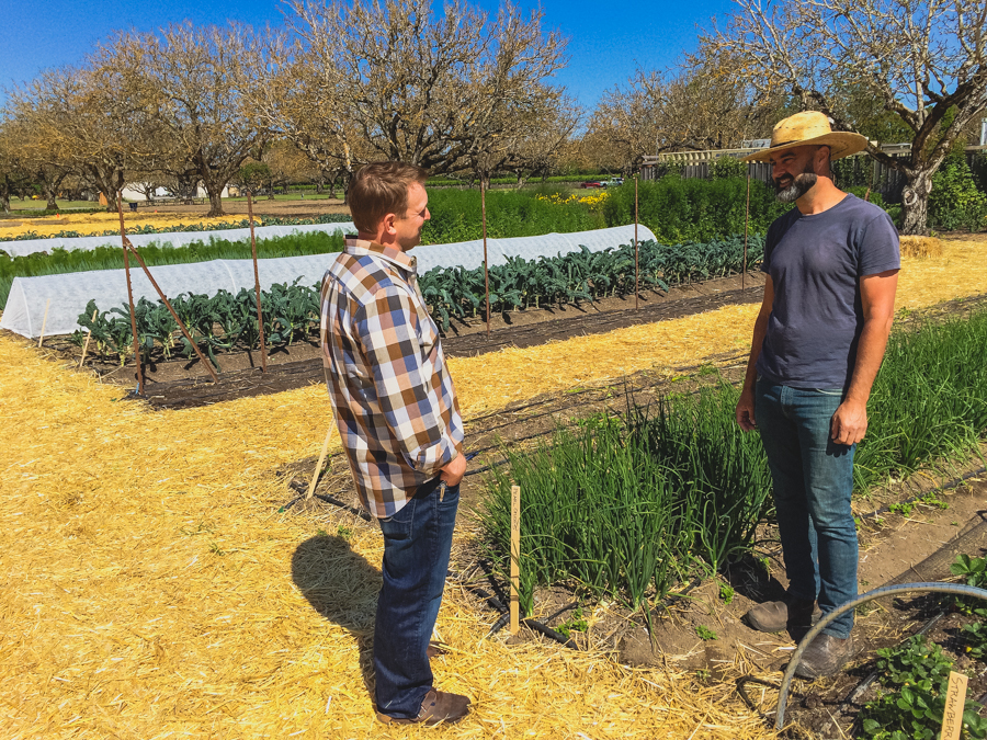 It's been a while since we last discussed all the latest happenings in our garden. So now that spring is officially in the air, we figured there's no better time to get out in the garden with Executive Chef Justin Wangler and Culinary Gardener Tucker Taylor and discuss our upcoming crops.