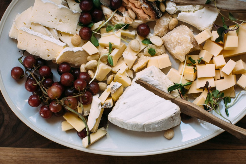 I adore antipasto platters because they allow you to be infinitely creative without spending all day in the kitchen. Plus, with a big crowd, you can set up a few platters at the table and at the bar, maybe one on the coffee table, even, to create more intimate settings for conversation.