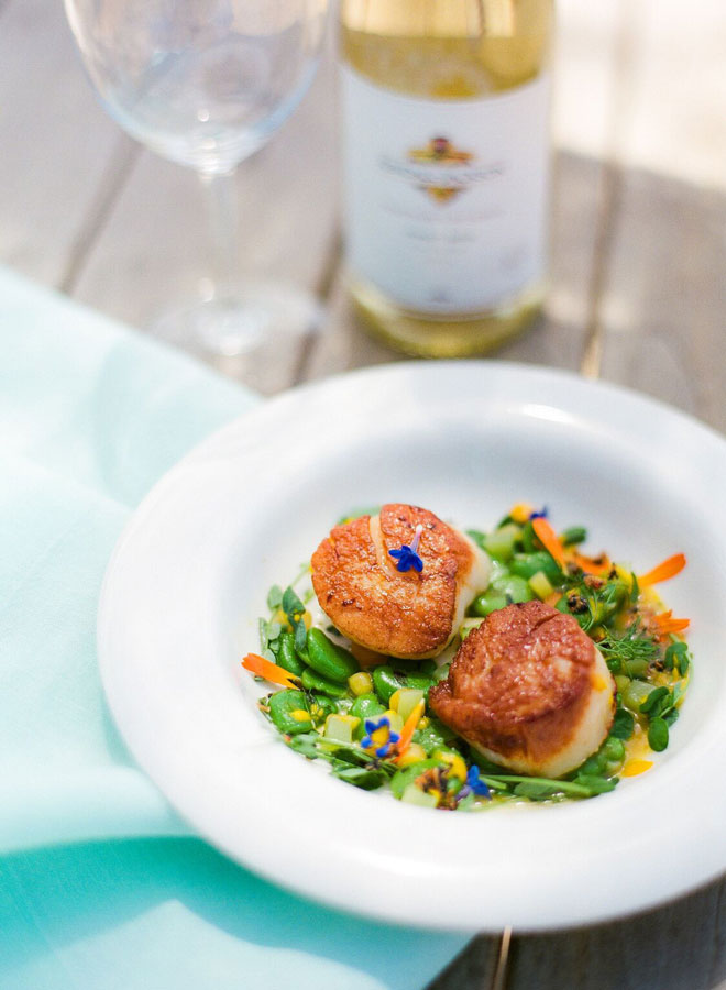 This delicious recipe is sure to be a hit at your next get together. And if you like rich, citrus-flavored white wine, we highly recommend pairing it with our Vintner's Reserve Pinot Gris — it's like tasting all the flavors of summer at once.