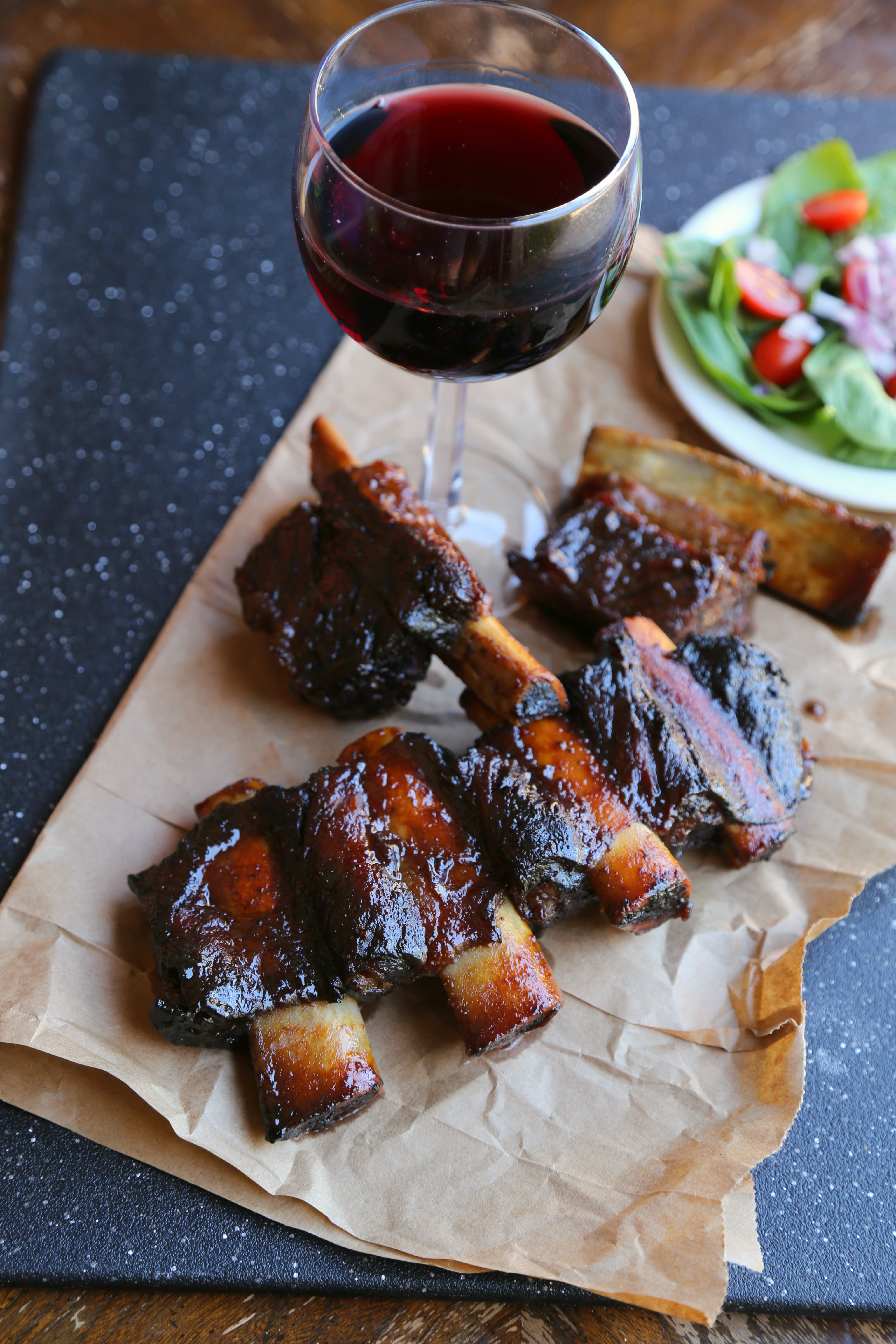 These tamarind oven baked ribs are lip-smacking, finger-lickin' amazing!