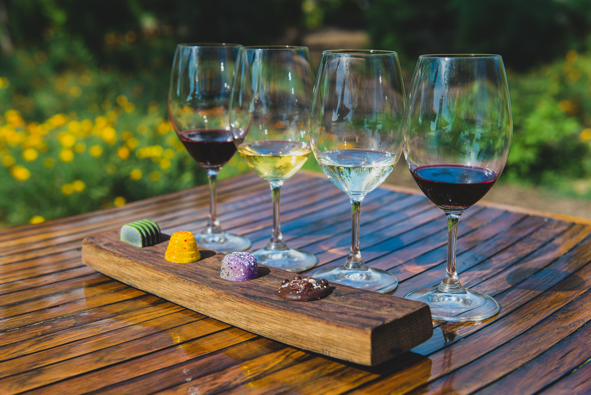 Kendall-Jackson Wine Estate and Gardens chocolate and wine pairing