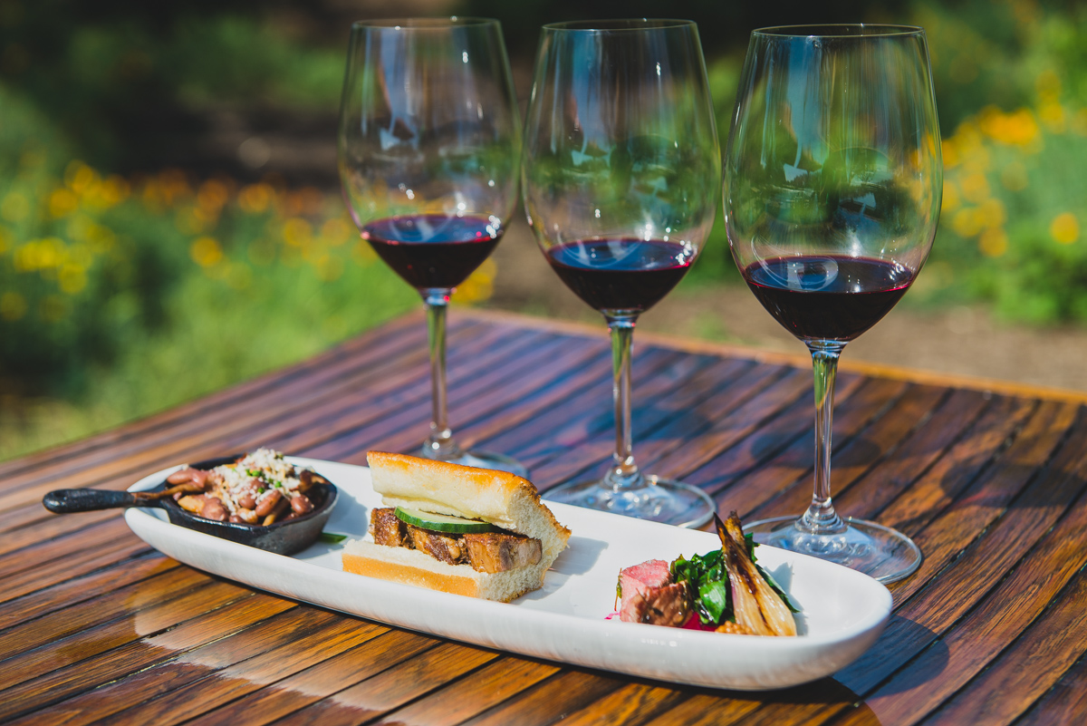 Kendall-Jackson Wine Estate and Gardens food and wine pairing