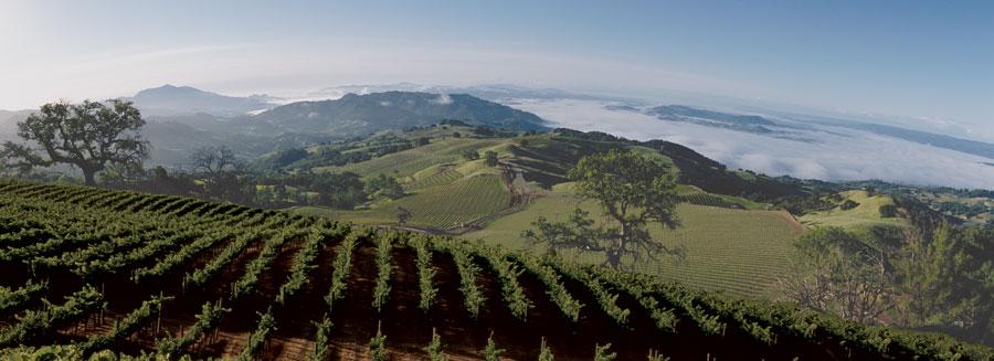Hawkeye Mountain Panorama
