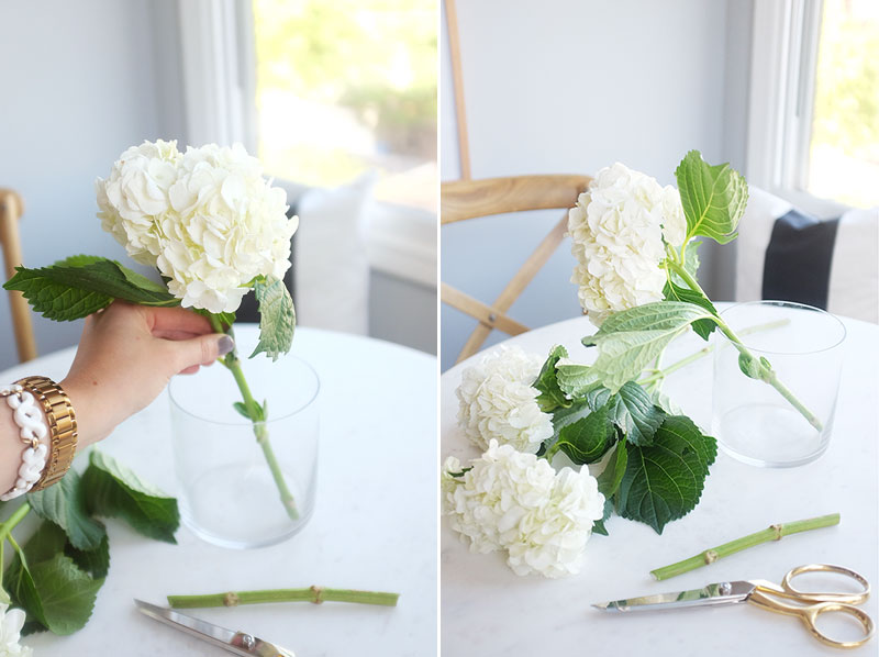 How to create a Sonoma-inspired floral arrangement for your next dinner party #DIY