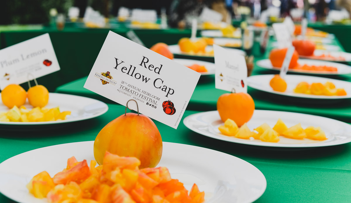 19th Annual Kendall-Jackson Heirloom Tomato Festival #KJTomFest