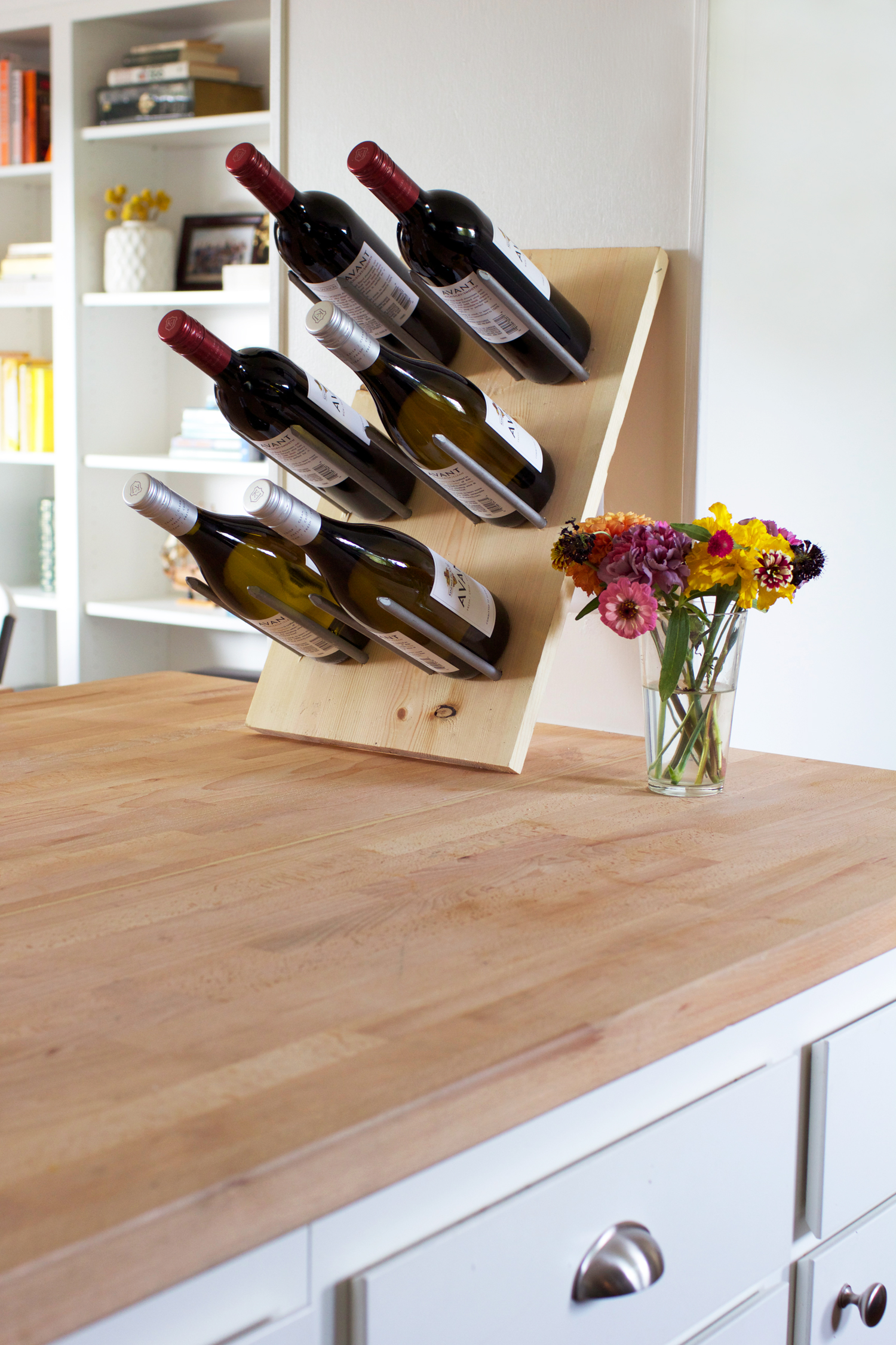 Diy Modern Wine Rack