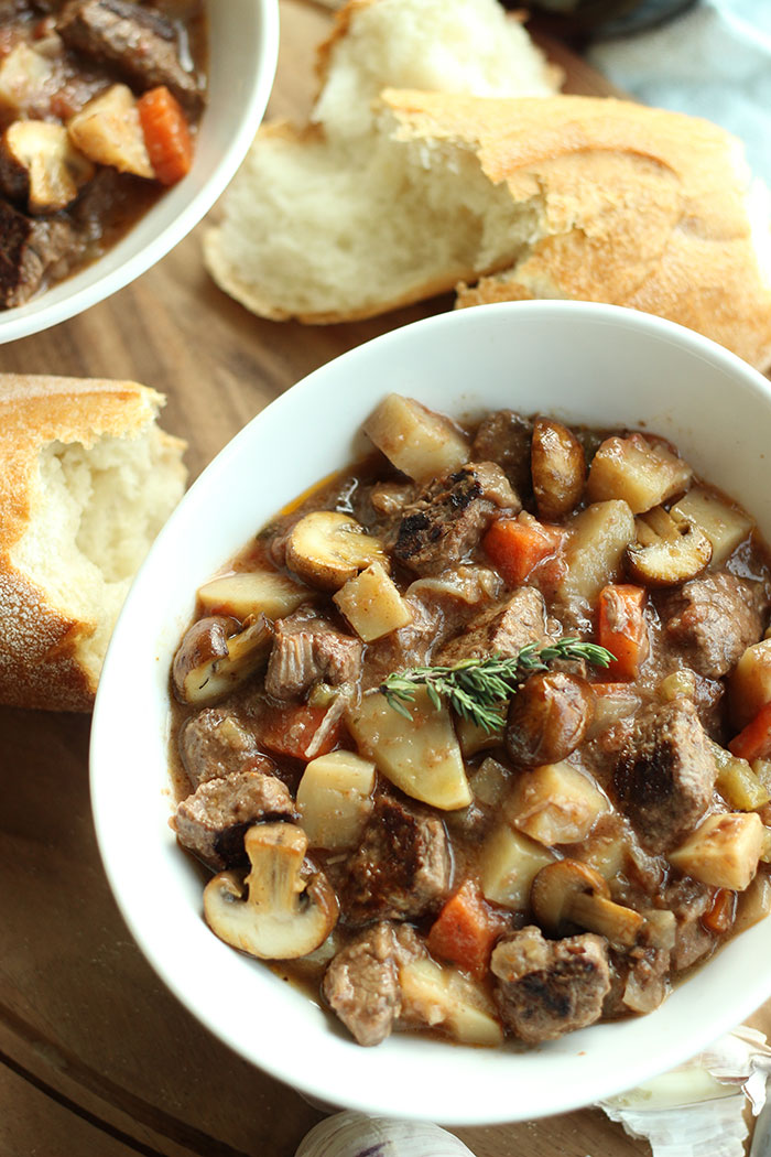 The best part of this recipe is that you can make it in a crock pot so it's hot and ready to eat when you walk in the door after a busy day. That means more time for you, the family or your guests and less time messing around in the kitchen.