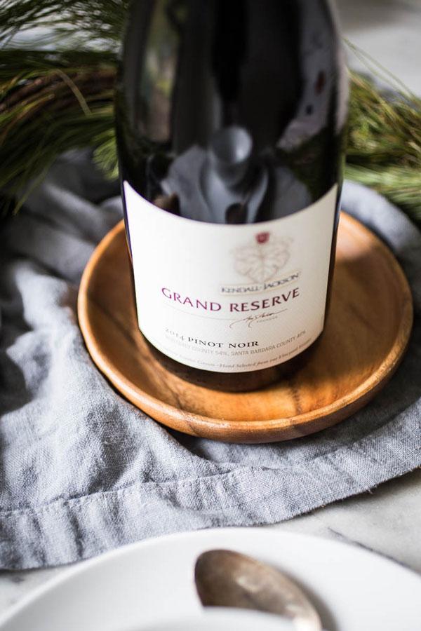 bottle of kendall-jackson grand reserve pinot noir