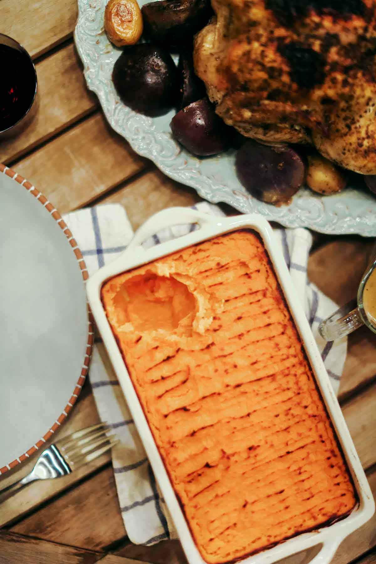 Browned Maple Butter Sweet Potato