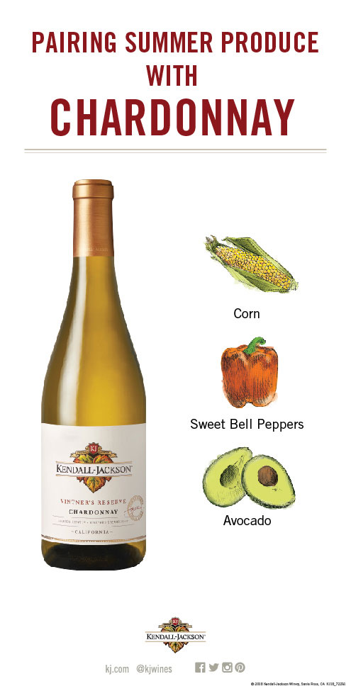 Pairing Summer Fruits and Vegetables with Chardonnay Wine