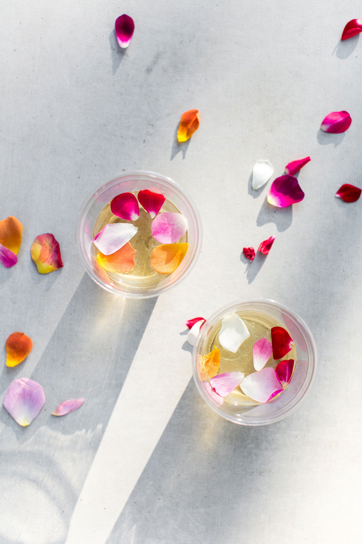 Enjoy some edible flowers in your glass of K-J AVANT Sauvignon Blanc.