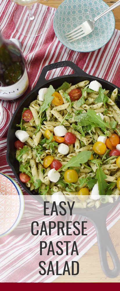 Searching for an easy weeknight meal that is equal parts healthy, delicious and time effective? Then this easy caprese pasta salad will absolutely blow your mind!