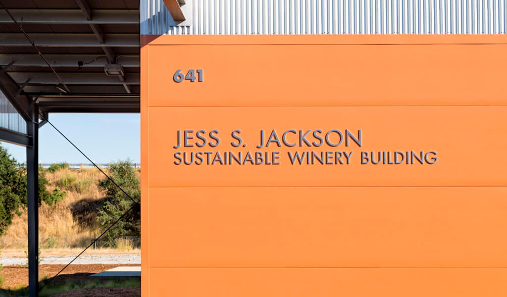 The Jess S. Jackson Sustainable Winery Building opens at UC Davis