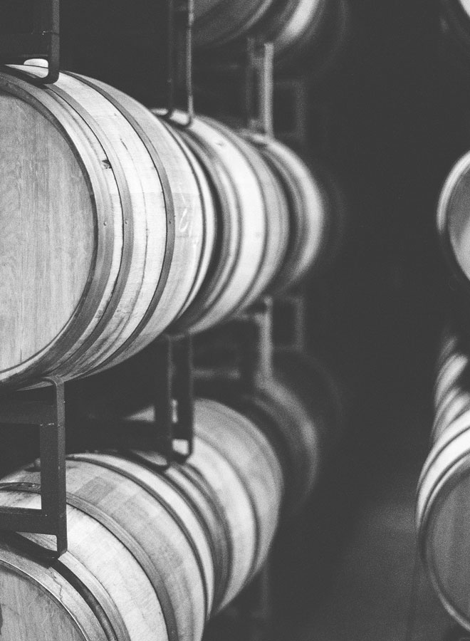 kendall-jackson french oak barrels