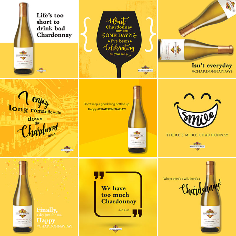 Kendall-Jackson Chardonnay Day Wine Graphics