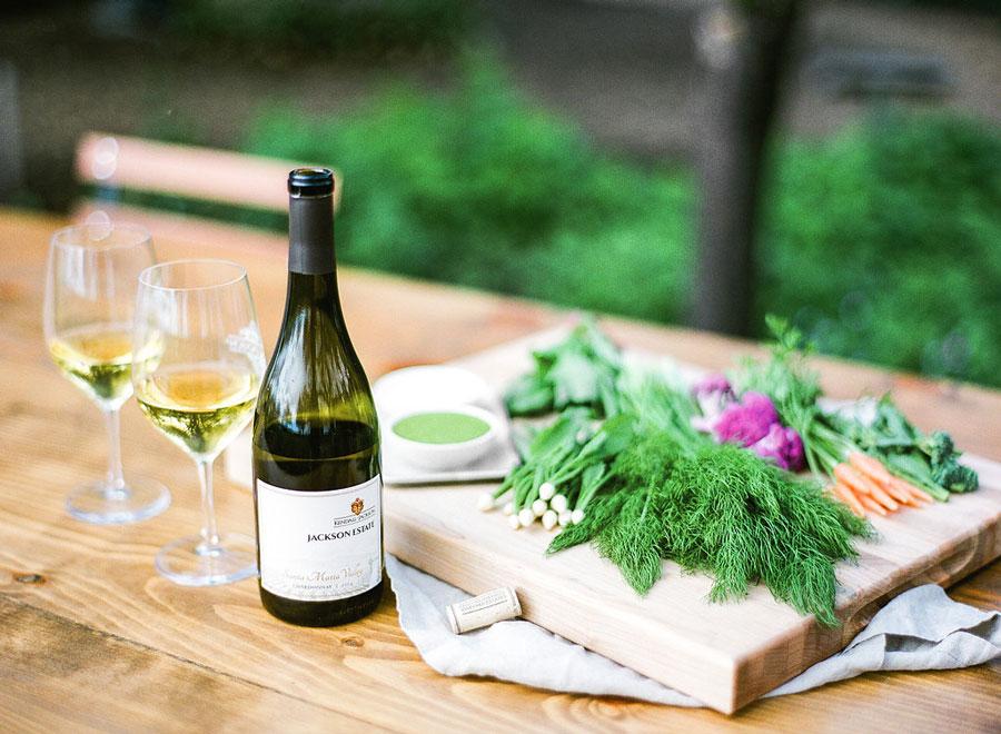 kendall-jackson chardonnay vegetable pairings