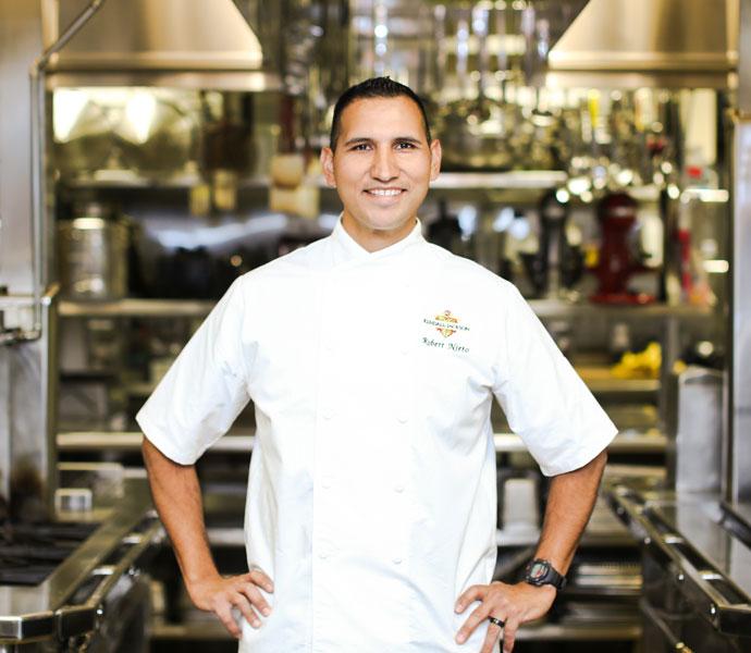 Kendall-Jackson Pastry Chef Robert Nieto