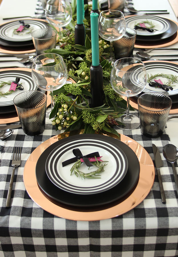 Make this super easy DIY Rosemary Name Setting project for your table during the holiday season.
