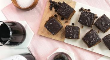 If you have a serious sweet tooth and love pairing your dessert with delicious wine, then these espresso shortbread caramel bars are for you.