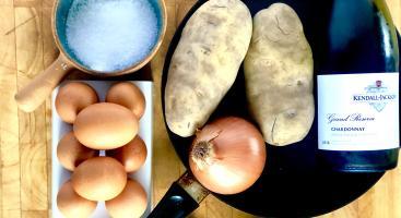 Chef Justin Wagner's Tortilla Espinola Recipe