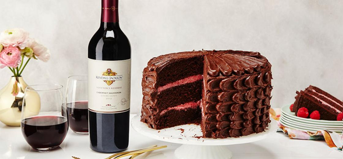 Image Result For Wine And Cake Birthday Images